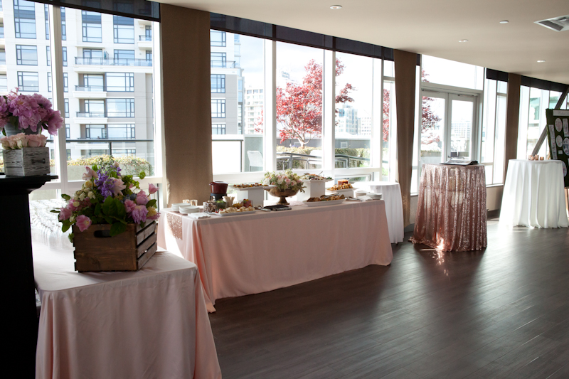truffles catering parkside hotel wedding
