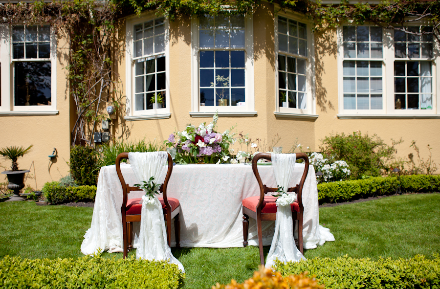 Decor by Designer Weddings and Special Occasion Rentals at Villa Marco Polo Inn, Victoria BC