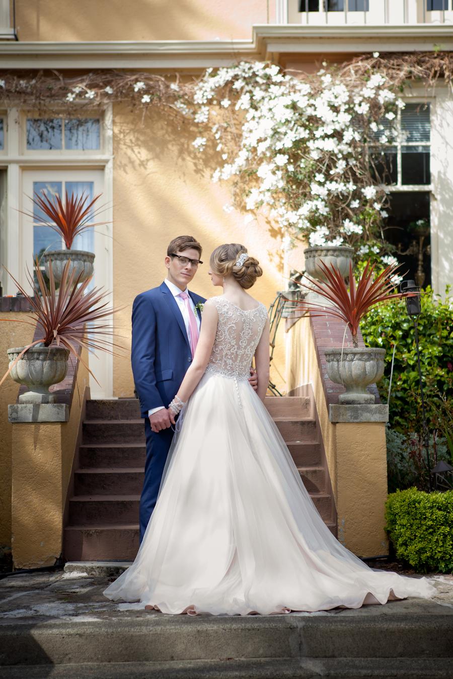 Spring Wedding at Villa Marco Polo Inn, Victoria BC
