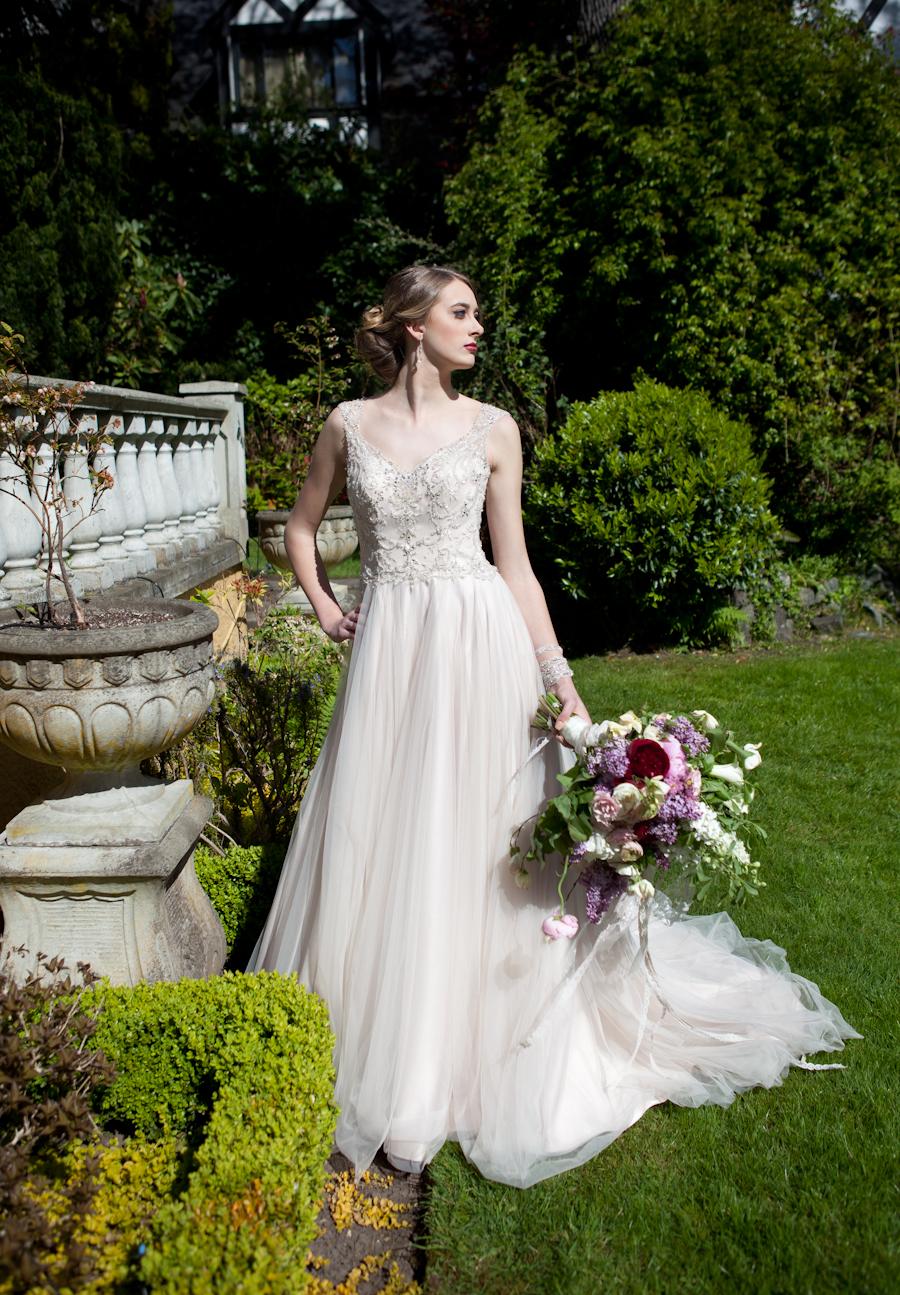 Rhea wedding dress from Blush Bridal Boutique, Victoria BC