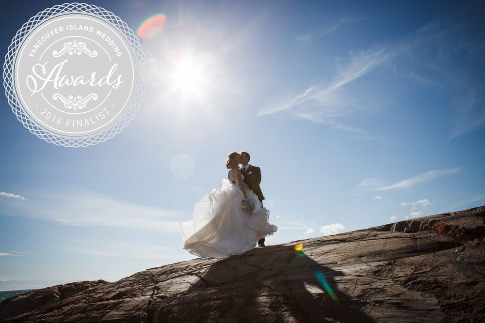 Vancouver Island Wedding Awards 2016 Finalist Photo