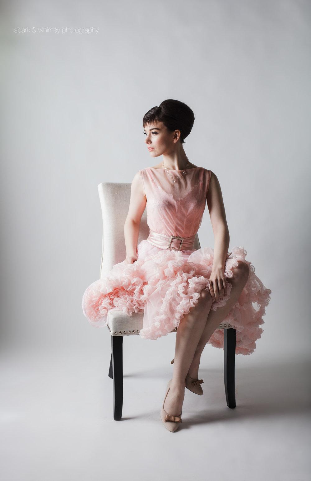 Audrey Hepburn Inspired Portrait | Victoria BC Portrait Photographer