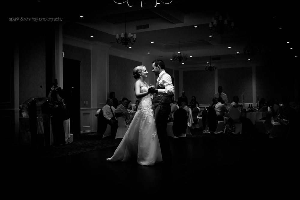 First dance of bride and groom at Sooke Prestige Oceanfront Resort | Victoria BC Wedding Photographer
