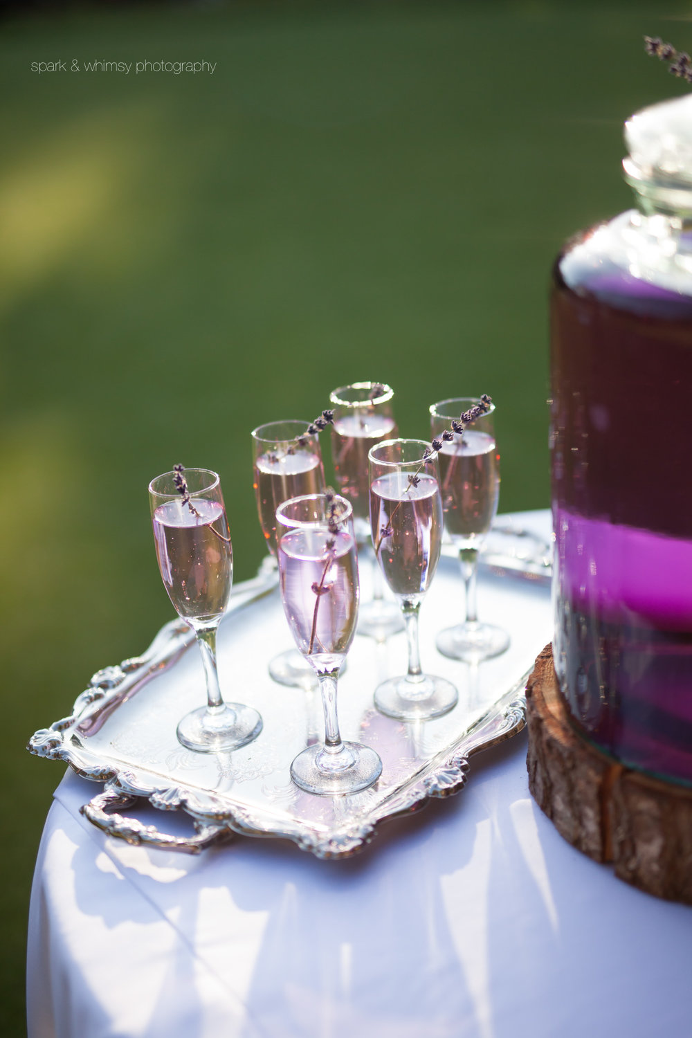 lavender lemonade by details special event planning and decor | wedding photography victoria bc