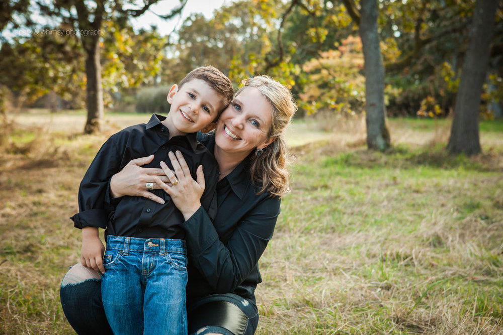 mother son portrait | victoria bc family photographer