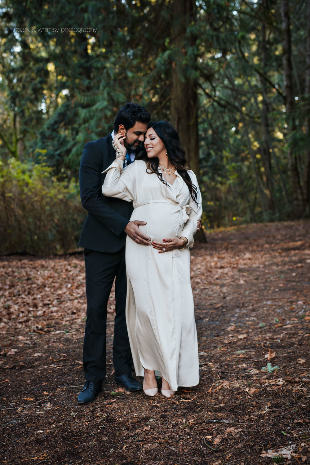 loving embrace | maternity photographer victoria bc