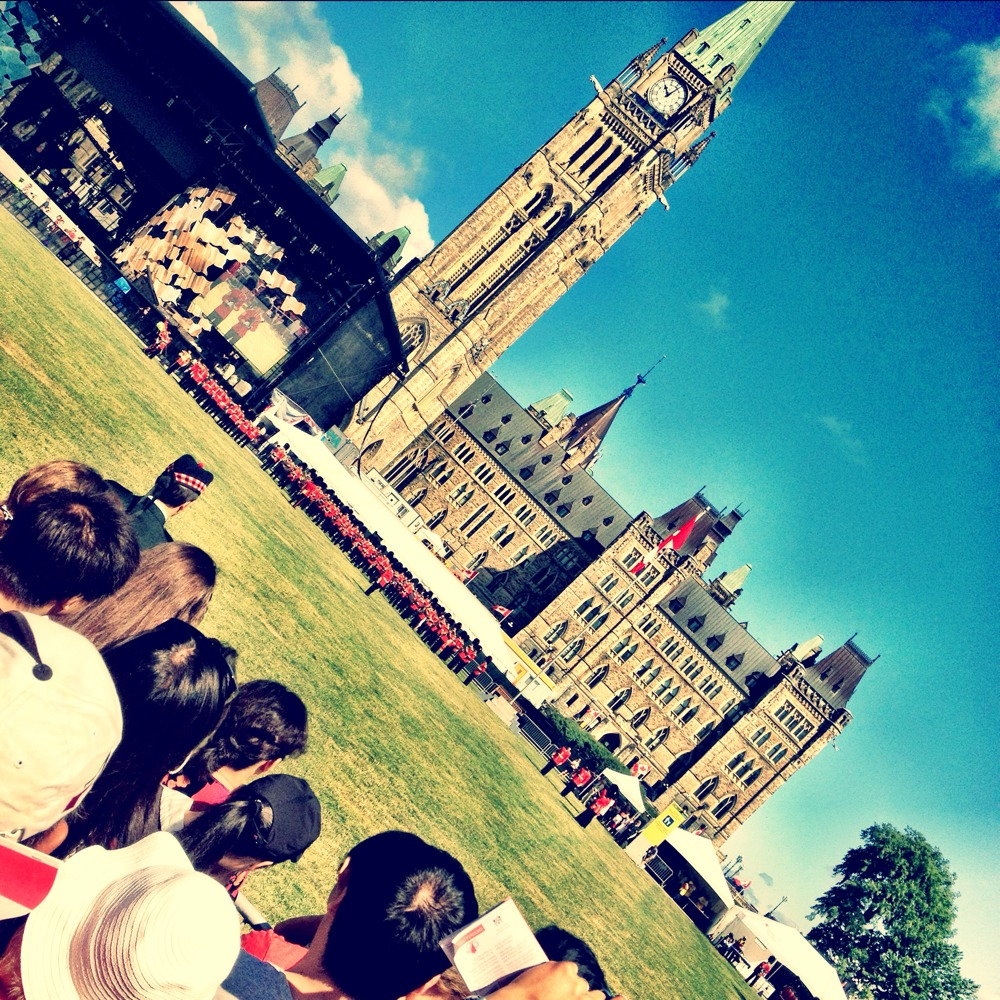 Canada Day Shots.