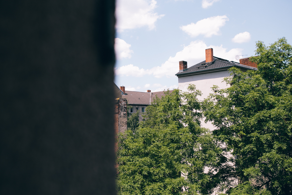 view from our flat in kreuzberg