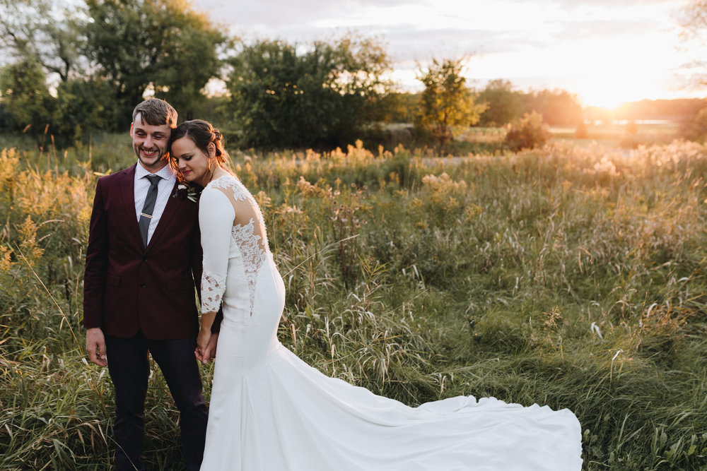 jenny + gerick - barn wedding