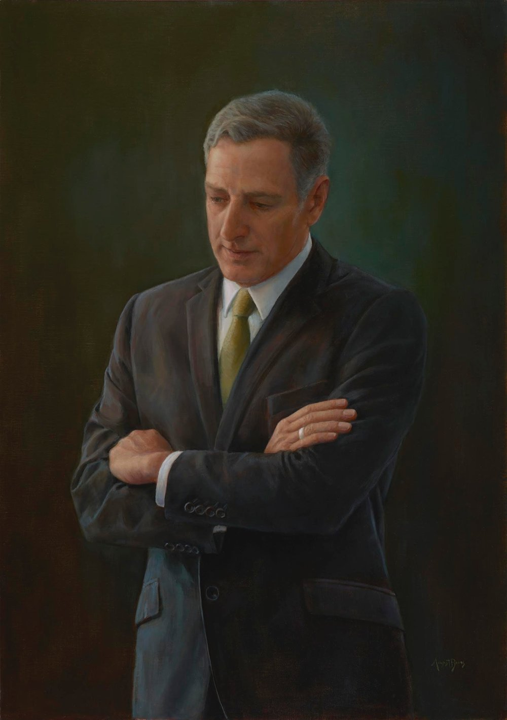 Governor Peter Shumlin, 81st Governor of Vermont, Commissioned Portrait