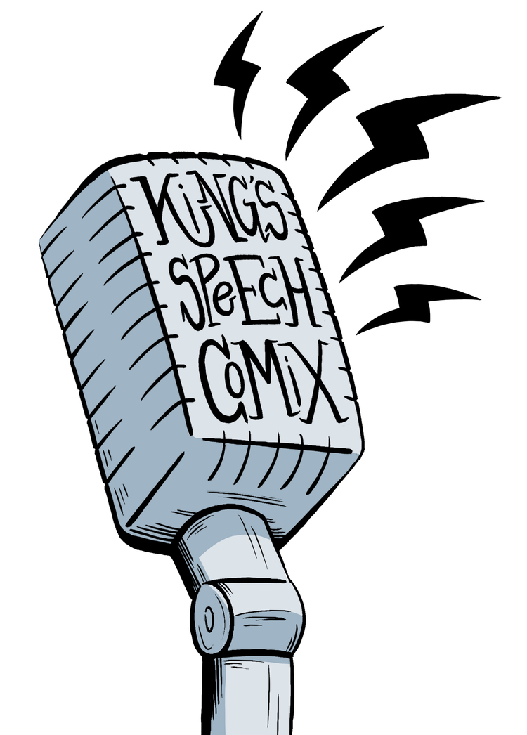 Kings Speech Comix