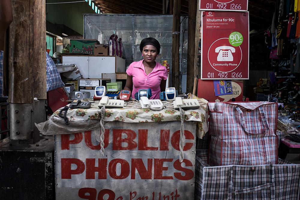 Lorraine Moyo - Originally from Zimbabwe - Yeoville Market, Johannesburg