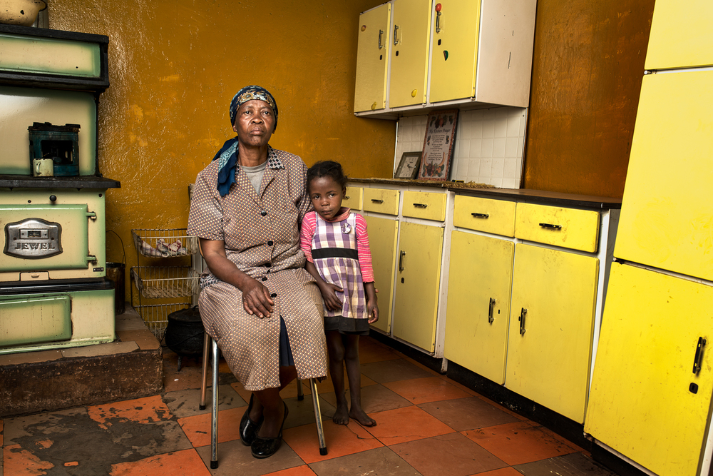 "Matsekelo Masupha  is the widow of Mokonyana Robert Masupha who passed away in 2008 after working for 29 years on the gold mines. He was diagnosed with silicosis in 2003 and was compensated R89 000. Mrs Masupha now earns a living by farming and selling traditional medicine. ""Considering the hardship I face now. I would say that I am disappointed in the company that my husband worked for. He went there as a young man, he spent his entire life there but he came back with nothing to show for his work."""