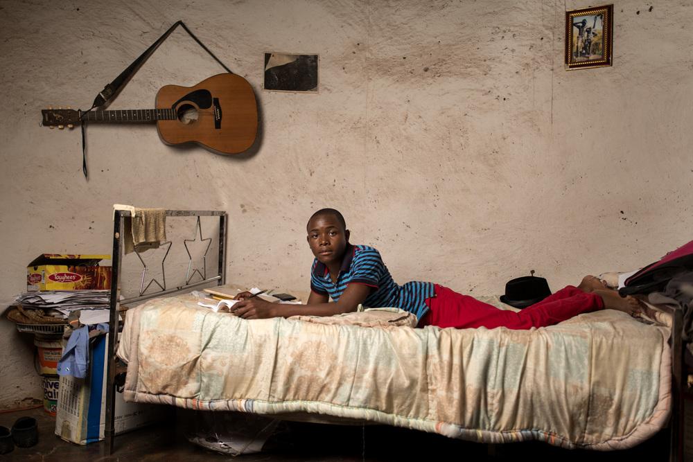 Nyiko Mahlawuli (17) - Nghombenghombe Village, Limpopo