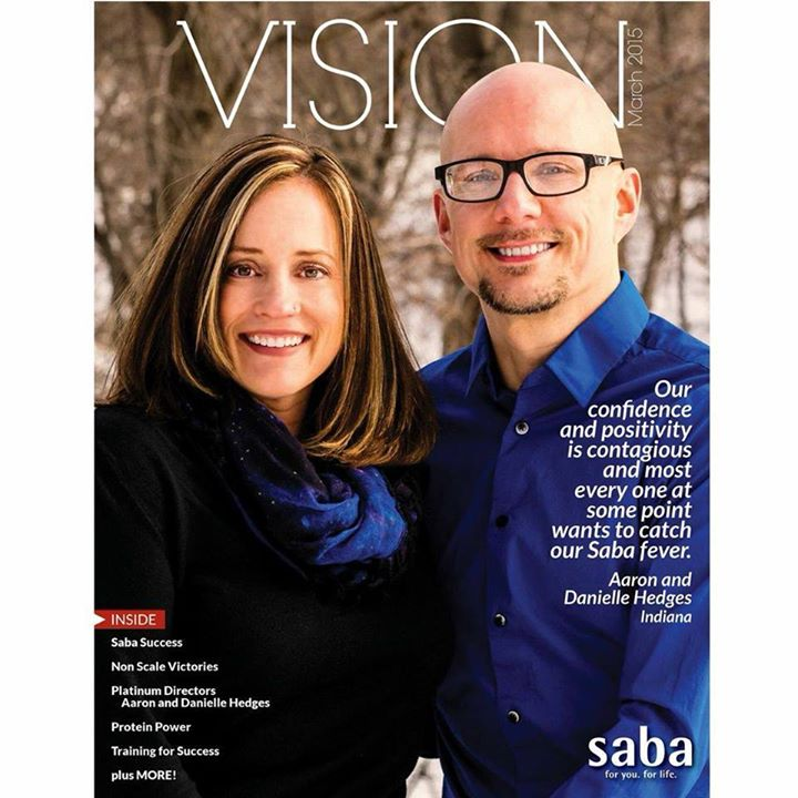 The March cover of Vision Magazine.