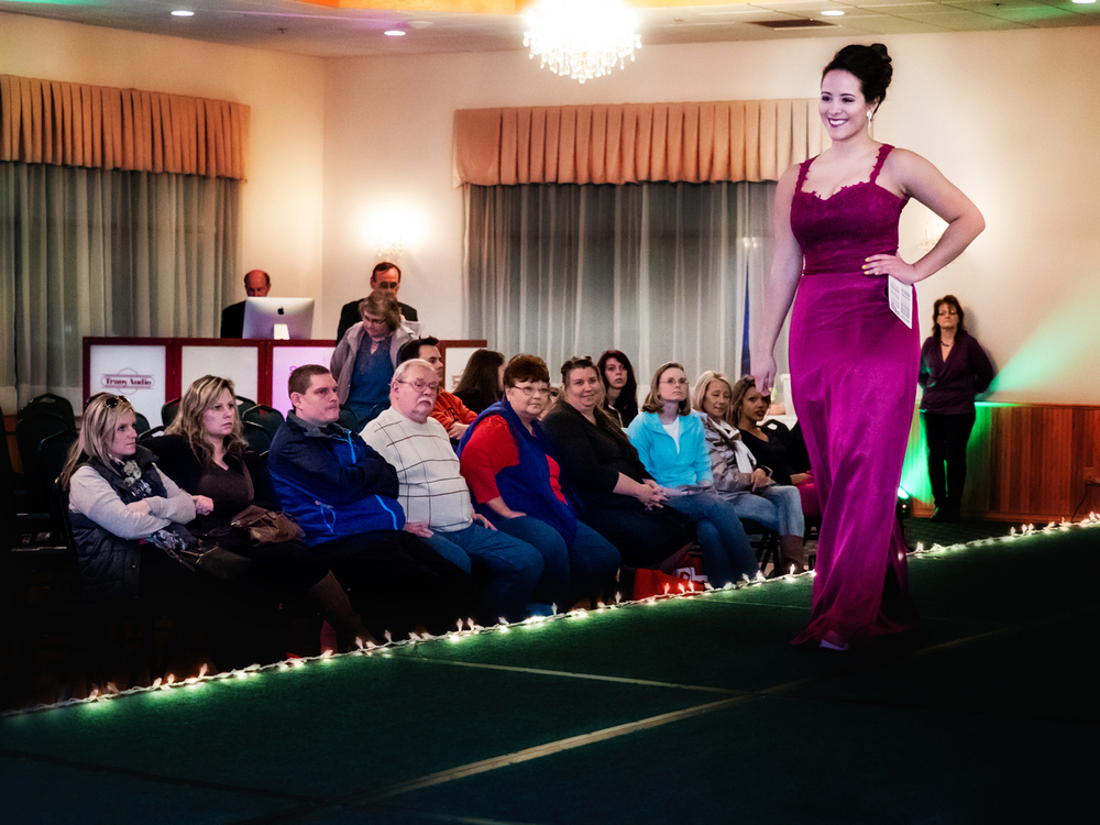 Fashion show runway.