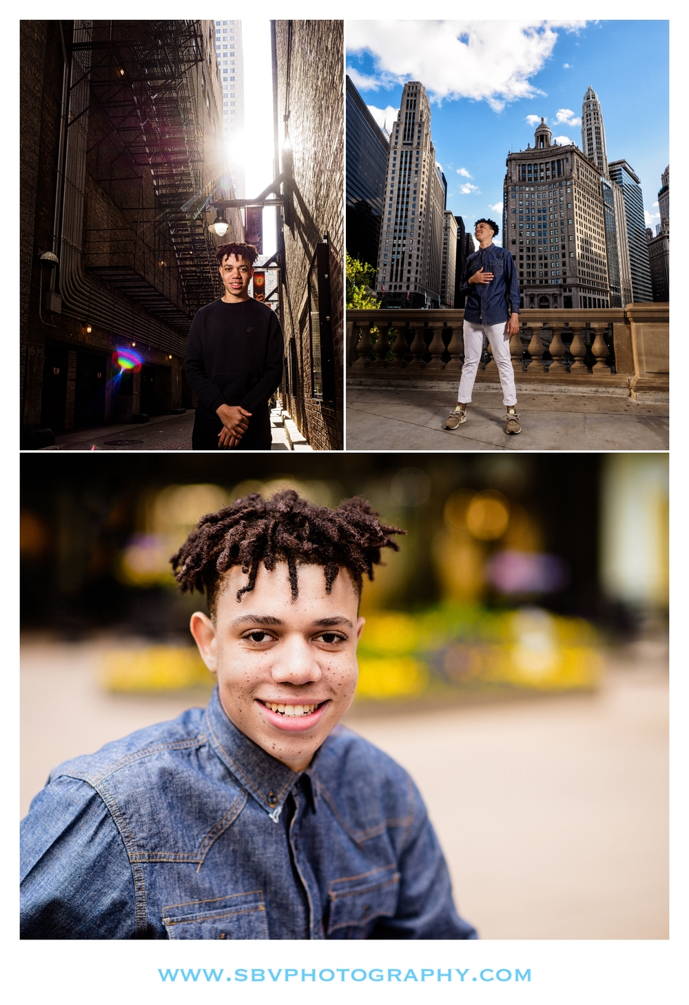 Senior photos in the 'City of Big Shoulders' - Chicago, IL.