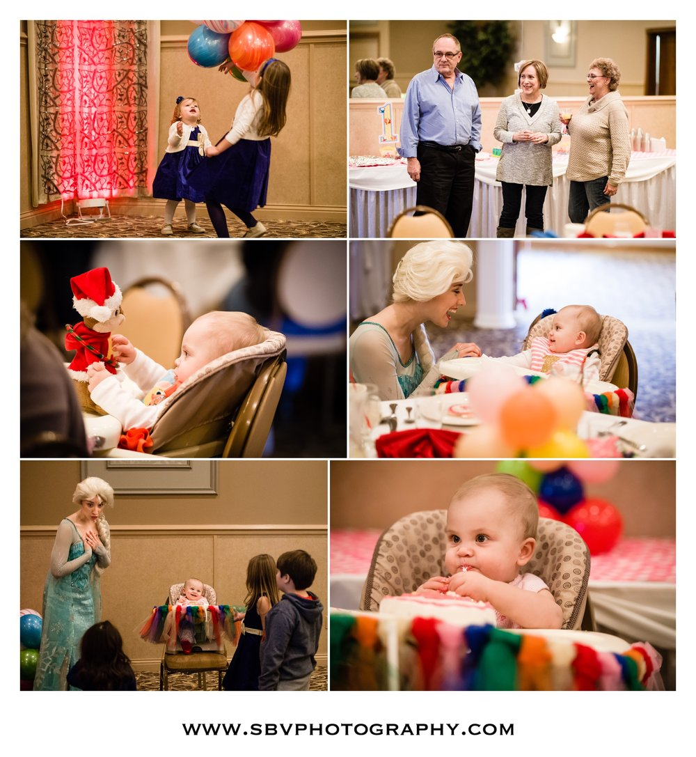 Candid photos from a family party at Andorra Banquet Hall.