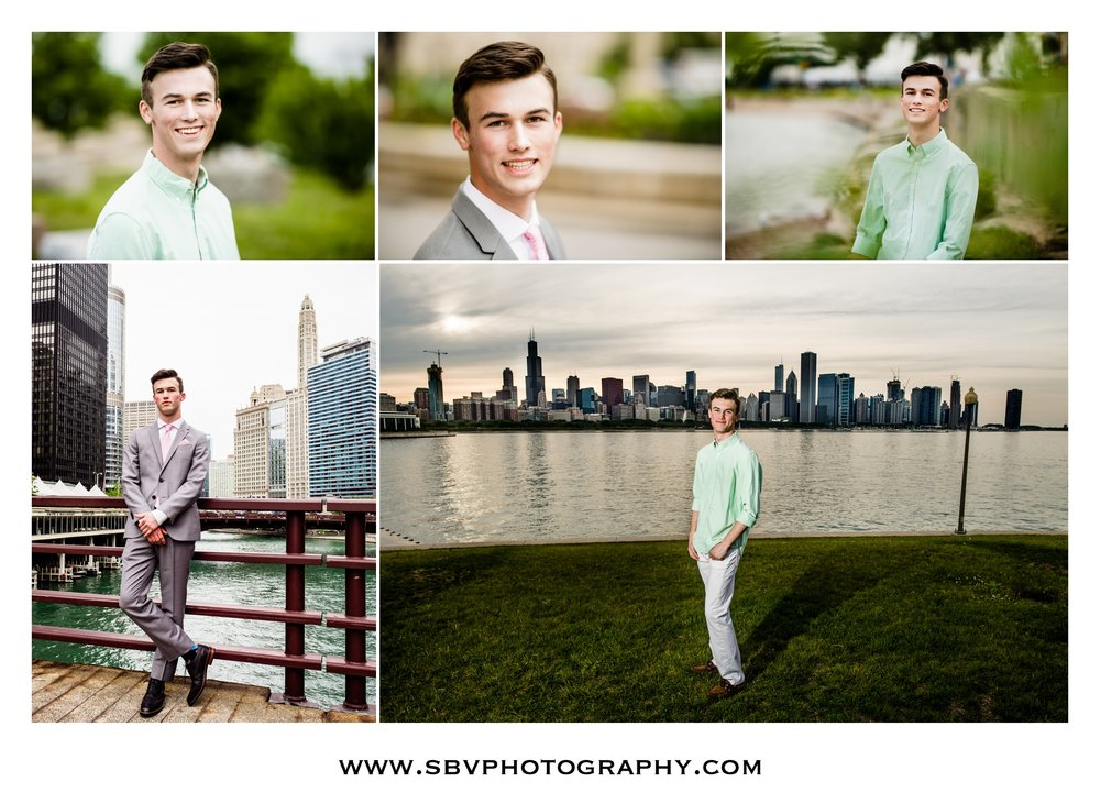Senior photos in Chicago.