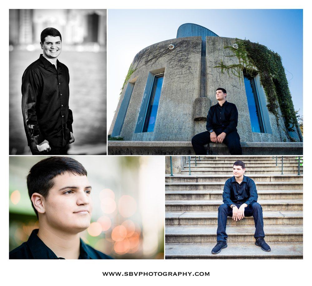Senior photos around downtown Chicago.