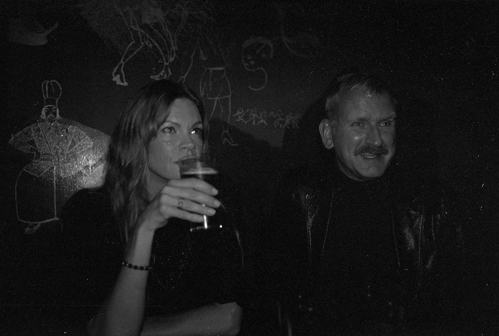 Here Maraja Andersson,top model & the owner/editor of the Magazine My flowers My secrets, with Lars (the tulip)Brusell