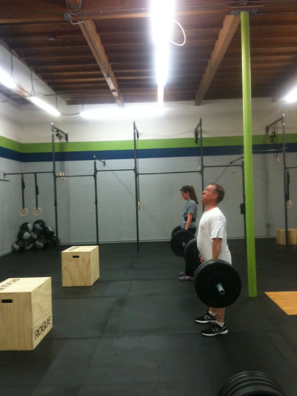 Rick and Tara attacking the Deadlifts