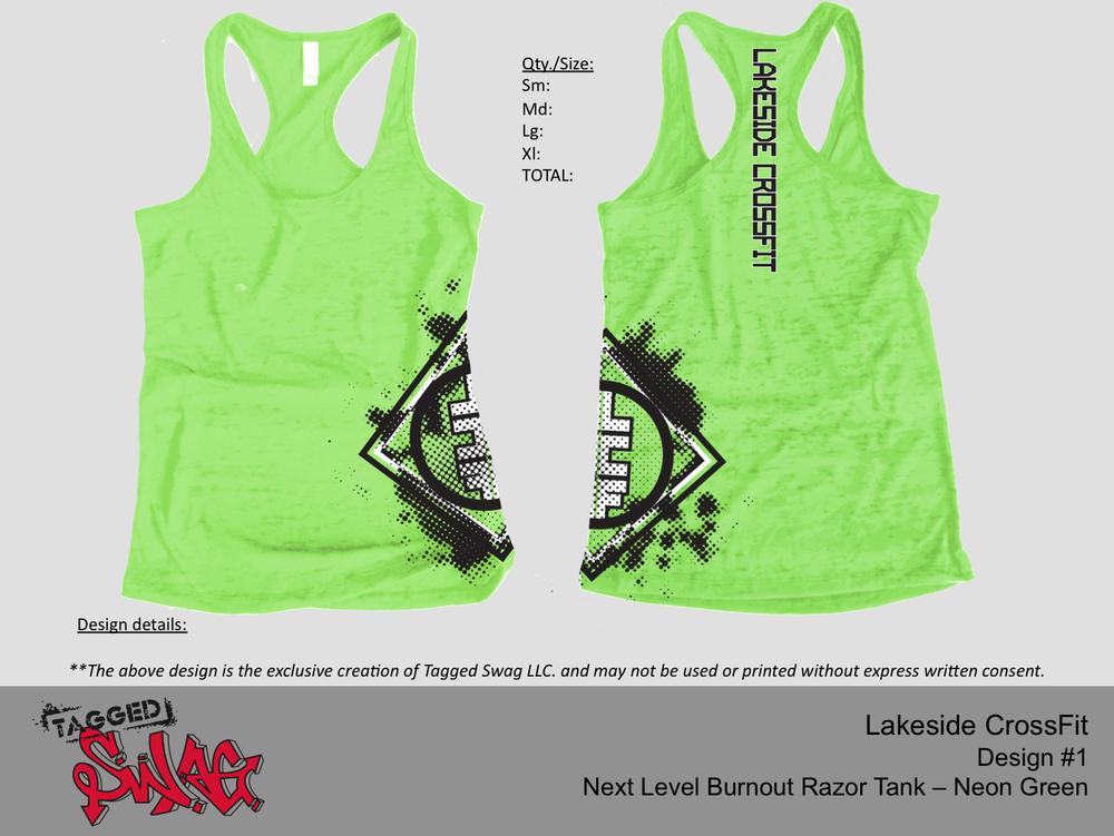 Ladies Tank $25