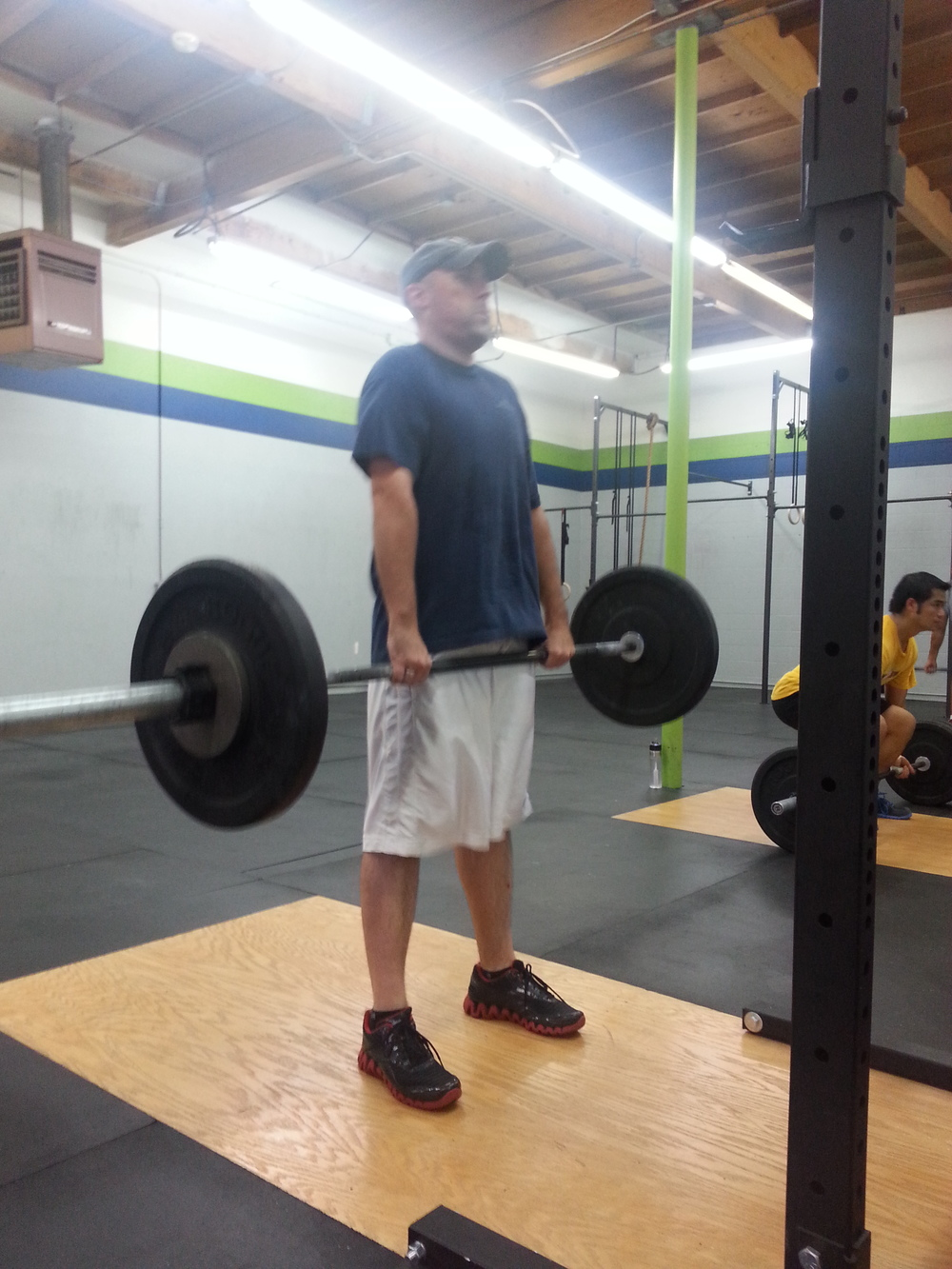 Keith L. Deadlifting!