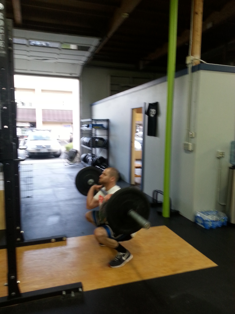 Kevin killing the thrusters!
