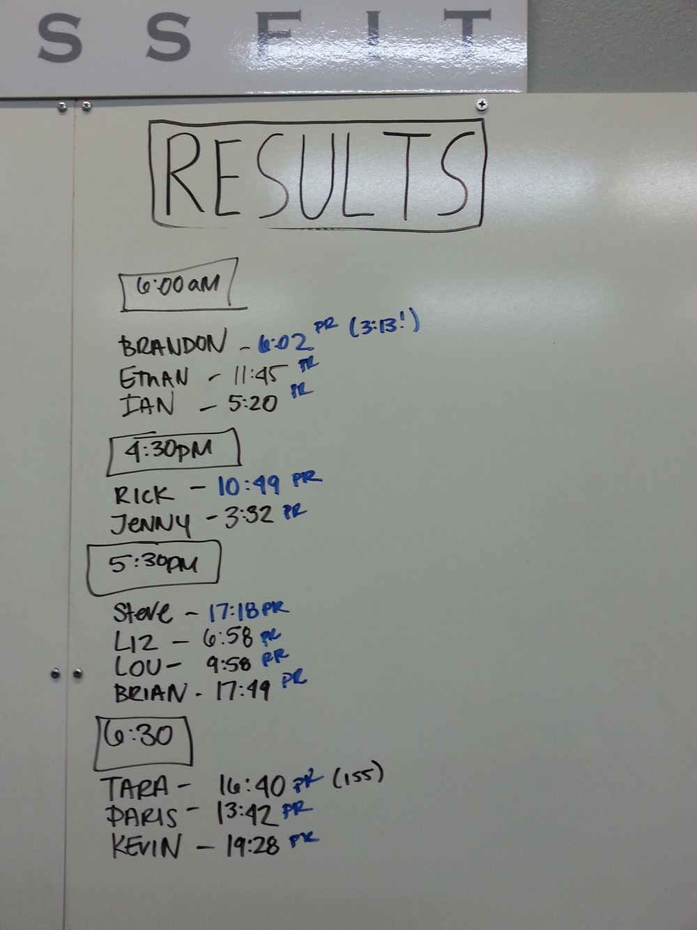 "Results from benchmark WOD ""Diane"""