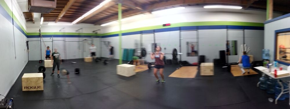 Panoramic Pic of the 6:30pm Class!