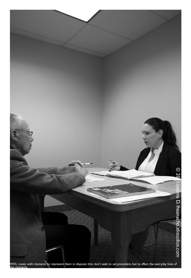 Faces of the Great Recession Series: Workers Defense League - Claimant Hearing