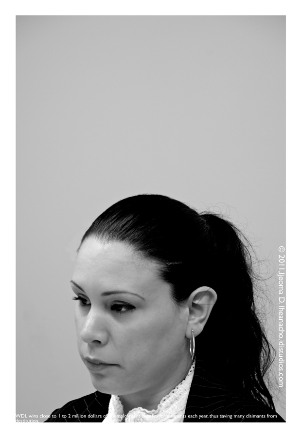 Faces of the Great Recession Series: Workers Defense League - Stefanie