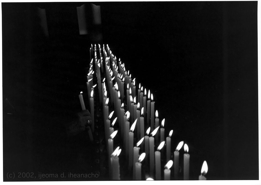 The Human Condition Portfolio: Candles - Coming/Going