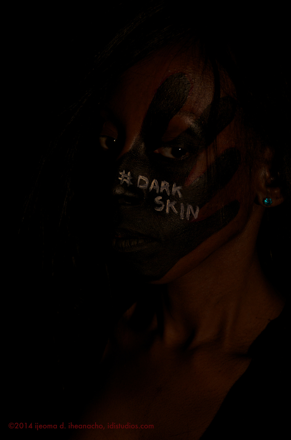 "the reImagining Series: Model #74 ""#Dark Skin"""