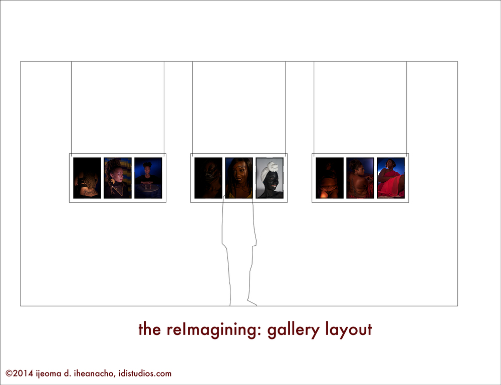 the reImagining Series: Gallery Installation