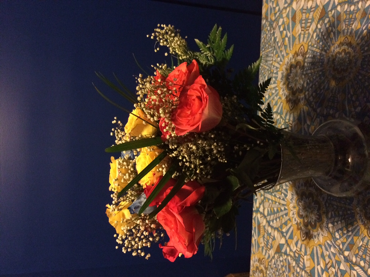 Thanks for the flowers Elizabeth!
