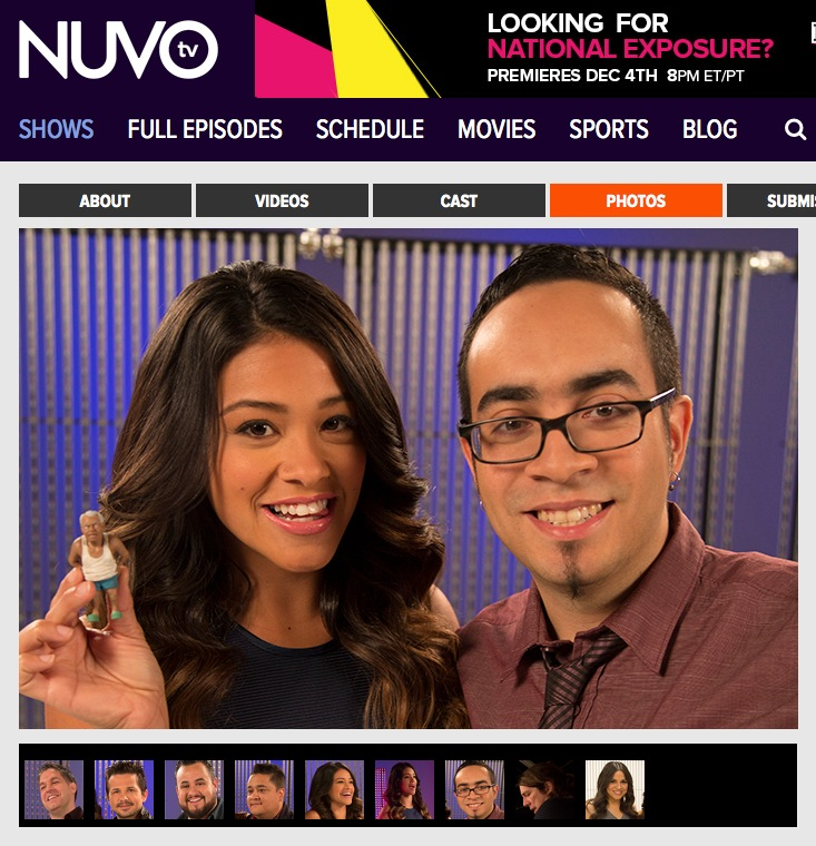 The short film was recently selected for NUVO TV'S EMERGING LATINO FILMMAKER'S SHOWCASE!  I was flown out to Los Angeles to be interviewed for the show by Gina Rodriguez, star of Jane the Virgin. The interview will be posted in late-November.