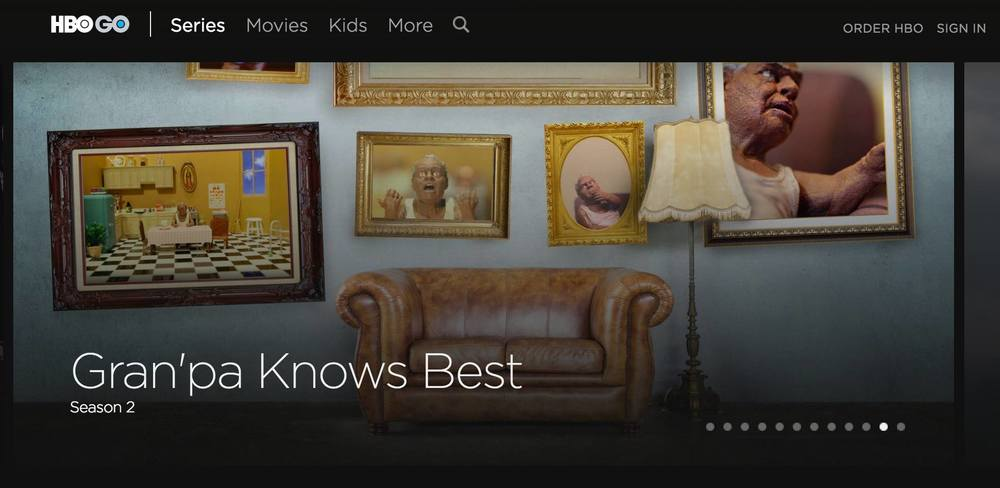 Gran'pa Knows Best is viewable on HBO GO and HBO NOW! Just navigate to LATINO SERIES and you can see all 30 episodes.