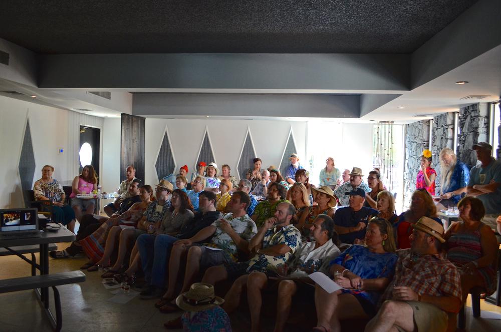 Audience at the Rum 103 symposium at TIki Caliente 7