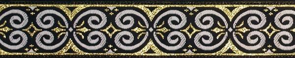R223 1 Inch Gold Scroll