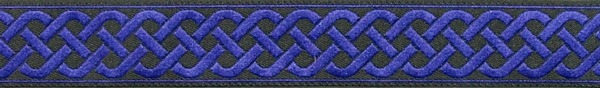 R136 3/4 Inch Purple Celtic Knot