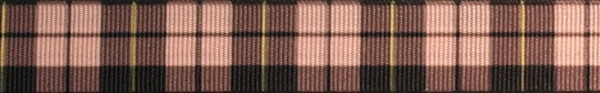 R90-CG 3/4 Inch Pink and Black Plaid