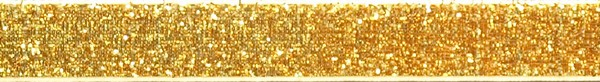 R299 5/8 inch Gold Sparkle