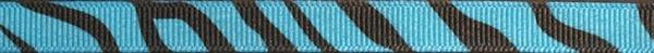 R279-CG 3/8 Inch Turquoise Zebra
