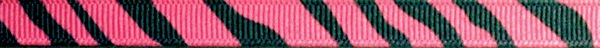 R280-CG 3/8 Inch Dark Pink Zebra