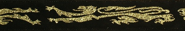 R244 7/8 Inch Gold Griffins
