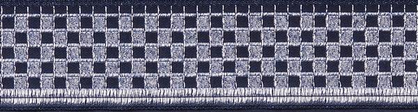 R330 1 1/4 Inch Silver Checker