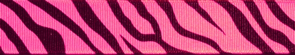 R142-CG 7-8 Inch Zebra pink