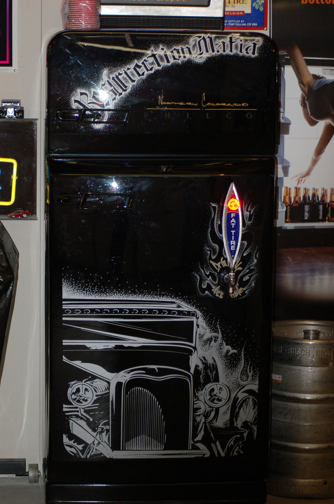 Custom Philco Kegerator